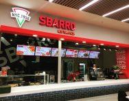 Оформление кафе SBARRO